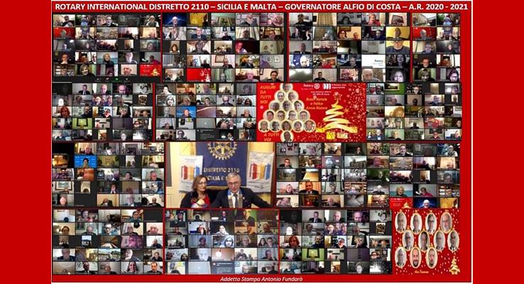Natale 2020 Rotary Costa Gaia